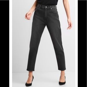GAP Black Mom Fit Jeans sz 29